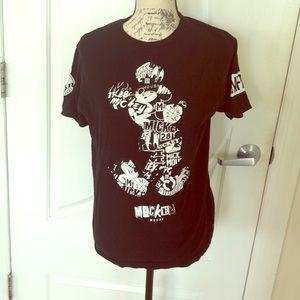 Neff Tops - Neff x Disney Mickey Mouse T-Shirt Size M